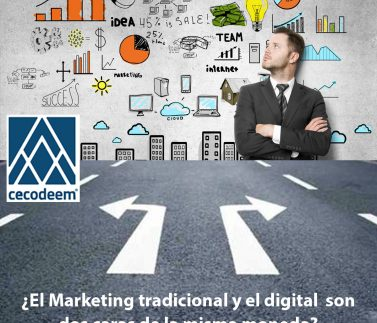 El marketing tradicional y el digital son dos caras de la misma moneda -SM